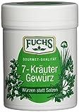 Fuchs Würzen statt Salzen '7 Kräuter' Kräuter-Gewürzmischung Gewürze Set, verschiedene Kräuter, für Salate, Gemüse, Nudeln und Geflügel, 3er Pack (3 x 50 g)