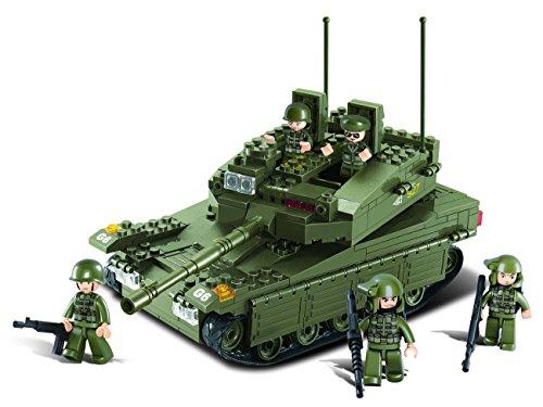 Sluban M38-B0305 - Baukasten - Armee -  Panzer, groß