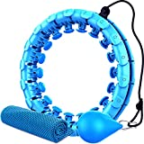 Best Hula Hoops - Weighted Hula Smart Hoops, Abdomen Fitness Equipment Review