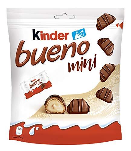 Kinder Bueno Mini, Für den kleinen bueno Genussmoment ein kinder bueno Mini mit einem schönen Feelgood Spruch genießen., 108 g