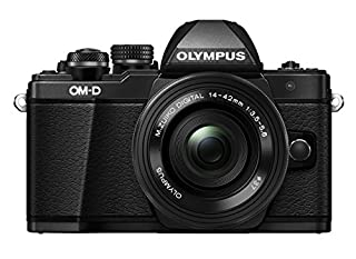 Olympus OM-D E-M10 Mark II Compact System Camera in Black + 14-42 EZ Lens with Manfrotto Befree Aluminium Travel Tripod with Ball Head - Black (B078HP91GF) | Amazon price tracker / tracking, Amazon price history charts, Amazon price watches, Amazon price drop alerts
