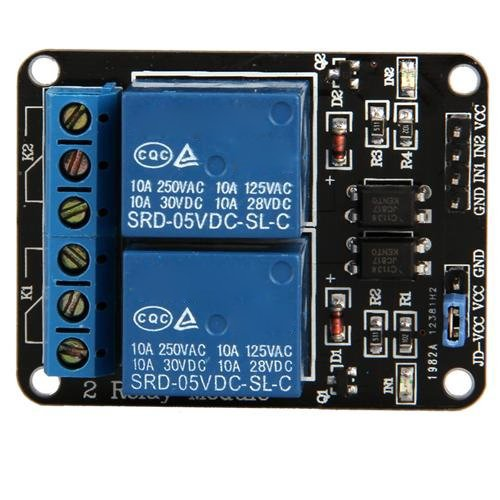5V Módulo de 2 Canales rele Shield para Arduino ARM PIC AVR DSP Electronic