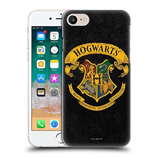 Head Case Designs Offiziell Zugelassen Harry Potter Hogwarts Kamm Sorcerer's Stone I Harte Rueckseiten Handyhülle Hülle Huelle kompatibel mit Apple iPhone 7 / iPhone 8 / iPhone SE 2020