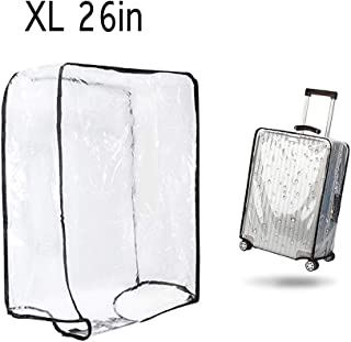 "1PCS Luggage Cover Suitcase Cover Transparent Protectors Case for 20""24""28""30""(XL)"