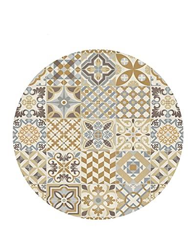 Vilber, Alfombra Vinilo Redonda. Toledo Color 04. Diámetro 97 cm
