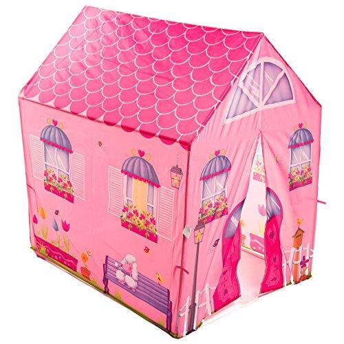 aussergewoehnlich® Mädchentraum Spielzelt Prinzessin wunderschöNES Spielhaus für Mädchen