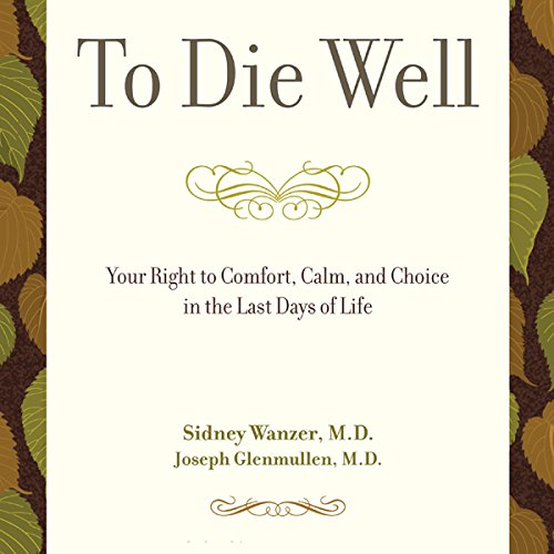 To Die Well audiobook cover art