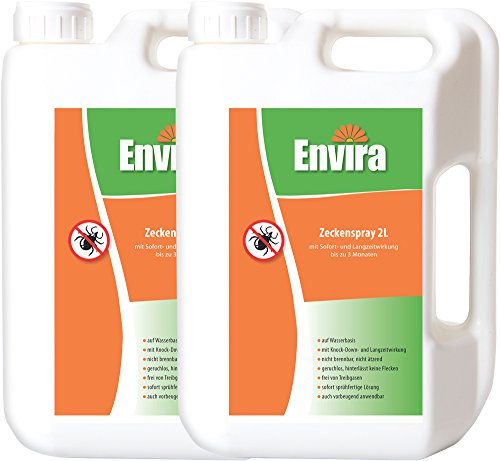 Envira Anti-Zeckenspray 2x2Ltr