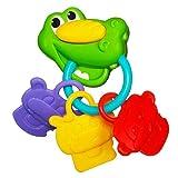 Playskool Poppin' Park Rattlin Jungle Keys Teether Toy