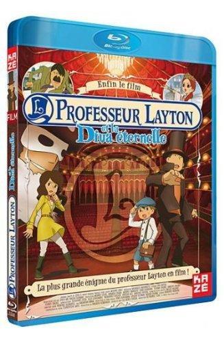 Professeur layton et la diva éternelle [Blu-ray] [FR Import]