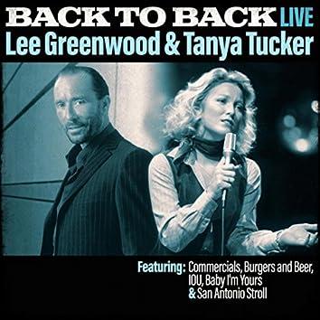 Back To Back - Lee Greenwood & Tanya Tucker (Live)