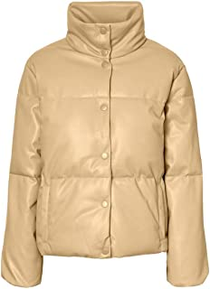 Vero Moda Vmemily Short Coated Jacket Ki Chaqueta para Mujer