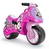 INJUSA Rosa Disney Moto Correpasillos Neox Minnie Mouse licenciada Recomendada a niños +18 Meses, Color (19002/000)
