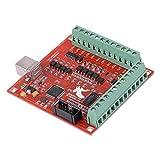 ブレイクアウトモーションコントロールカード、MACH3モーションコントローラー、自動プローブツール用CNC彫刻用reakoutボードアダプターコントローラー