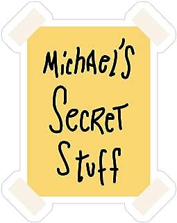 B. Strange Mall Michaelx27;s Secret Stuff Stickers (3 Pcs/Pack)
