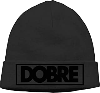 Women's Men's Knitted Hat DOBRE Lucas Brothers Cap Pullover Hat Gray