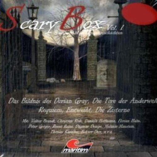 Die große Scary Box. Spannungsgeladene Hörspiele audiobook cover art