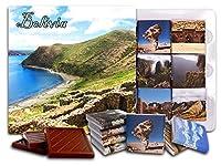 """DA CHOCOLATE キャンディ スーベニア """"ボリビア"""" BOLIVIA チョコレートセット 5×5一箱 (Ruins)"""