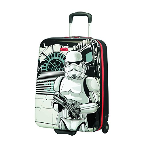American Tourister New Wonder - Upright S Bagaglio a Mano, 55 cm, 32.5 L, Multicolore (Star Wars Storm Trooper)
