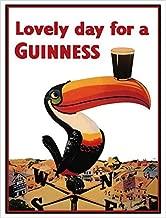 Buyartforless Guinness Beer Lovely Day Toucan on Weather-Vane 36x24 GICLEE Advertising Art Print Poster Irish Stout Brew