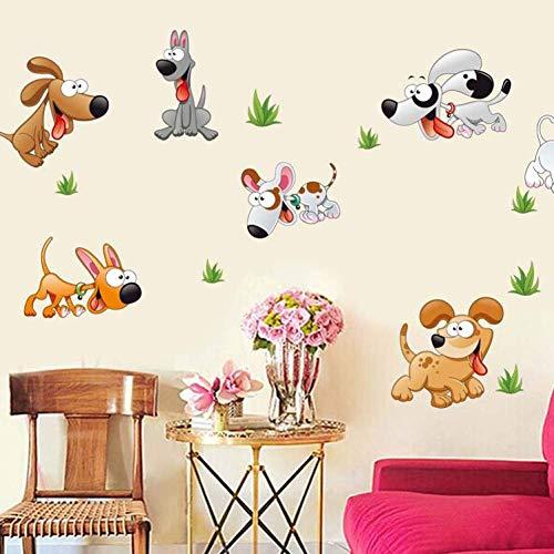 Leuke Dog Slaapzaal Nachtdecoratie Slaapkamer 'Kids Slaapkamer Slaapkamer Tuindecoraties Huisdier Winkel Muur