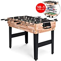 BCP 2x4ft 10-in-1 Combo Game Table Set