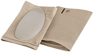Compression arch support sleeve socks with comfortable gel pad, elastic bandage arch flat foot orthopedic massage insole (...