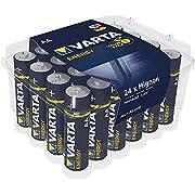 Varta Energy 4106229224 AA Stilo LR06 Batterie Alcaline, Confezione da 24 Pile, Blister risparmio