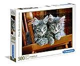 Clementoni 30545.2 - Puzzle High Quality Kollektion Kätzchen, 500 Teile