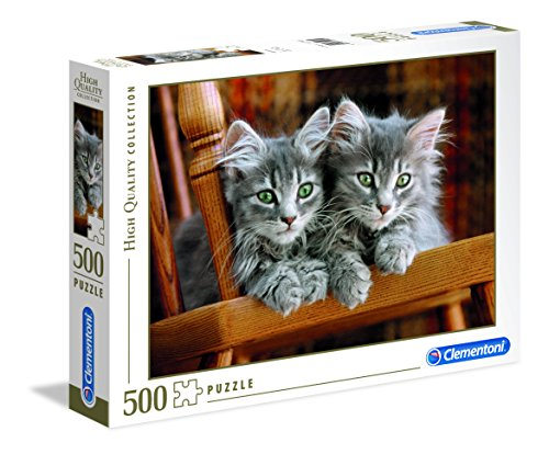 Clementoni - 30545 - High Quality Collection Puzzle - Kittens - 500 Pezzi