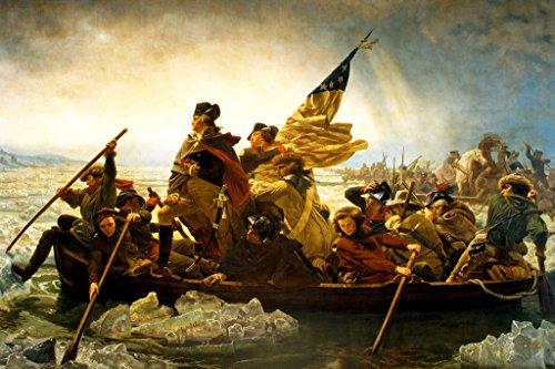 George Washington Poster American Revolution Art George Washington Art 24x36