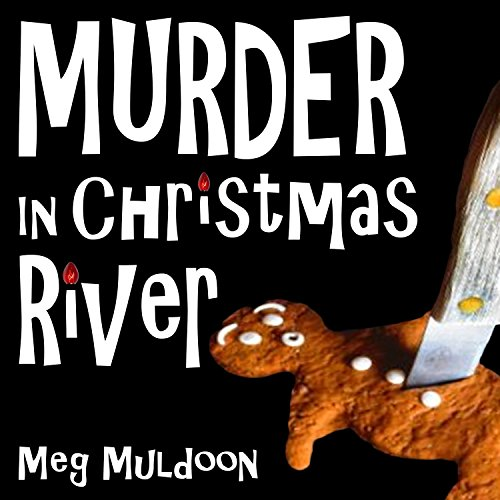 Murder in Christmas River audiobook cover art