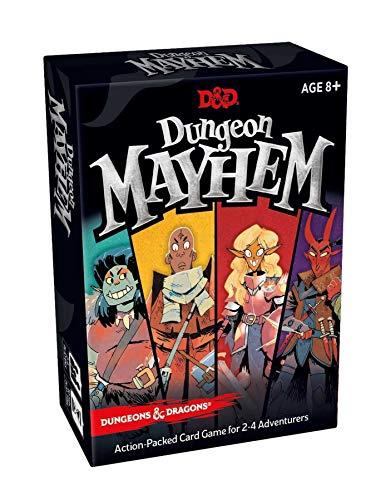 Dungeons & Dragons Dungeon Mayhem – Kartenspiel (Deutsch Version)