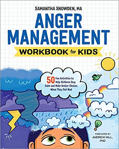 Anger Management Workbook for Kids:…