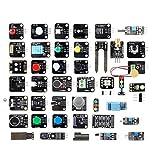 Treedix 42pcs Sensor Modules Kit for Arduino Project, Electronic Project, UNO, Mega2560