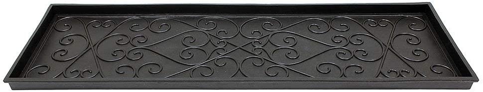 Achla Designs Scrollwork Rubber Boot 4 Pack 1 year warranty Large Tray of 5 ☆ popular