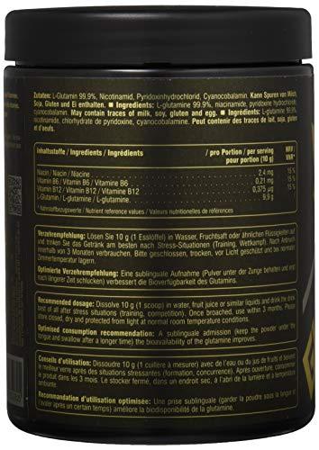 Peak Glutamin, Neutral, 500 g - 3