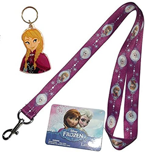 Disney  rozen Ana Key Chain and Elsa Lanyard by Disney