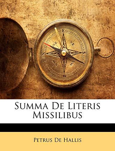 Summa de Literis Missilibus