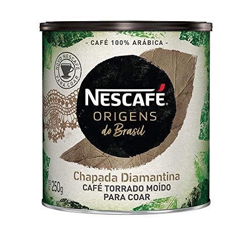 Café Torrado e Moído, Nescafé Origens, Chapada Diamantina, 250g