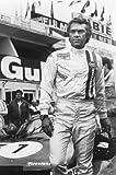 Nostalgia Store Poster, Motiv: Steve McQueen Le Mans mit