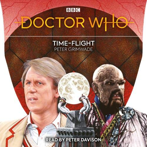 Doctor Who: Time-Flight cover art