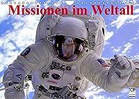 Missionen im Weltall (Wandkalender 2022 DIN A4 quer): Spannende Bilder aus der Raumfahrt (Monatskalender, 14 Seiten )