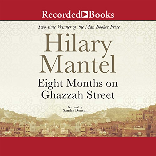 Eight Months on Ghazzah Street audiobook cover art