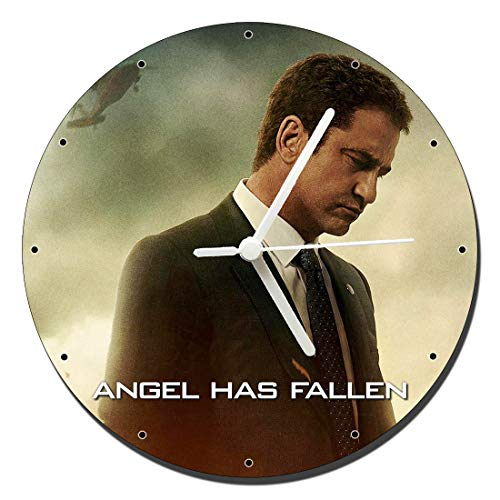Angel Has Fallen Gerard Butler Wanduhren Wall Clock 20cm