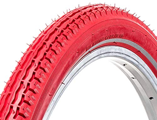 AMIGO Neumáticos exteriores Ortem Vert-X26 x 1,75 (47-559) Reflexion, color rojo