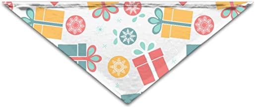 """Grebsw Gift Box 1 Soft Washable Pet Triangle, 11.8"""" 25.6"""", Suitable for Puppies, Kittens, Rabbits"""