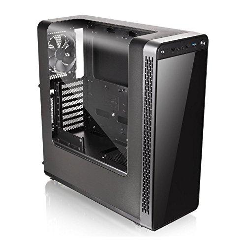 Thermaltake View 27 Midi-Tower - Caja de ordenador (PC, SPCC, ATX, ITX, Micro-ATX, Juego), Negro