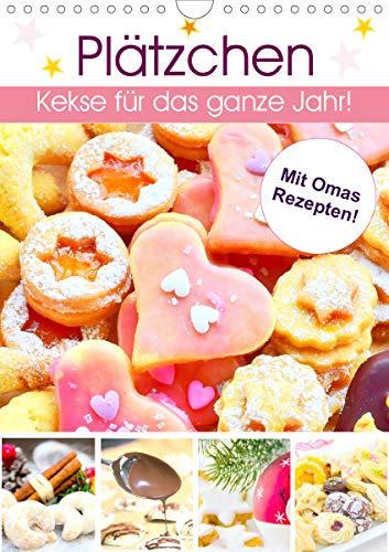Plätzchen. Kekse für das ganze Jahr! (Wandkalender 2021 DIN A4 hoch)