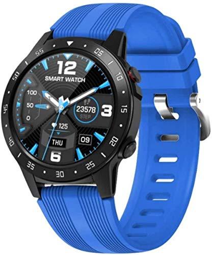 Smart Watch 1 54 pulgadas de alta definición de pantalla táctil redonda multifunción modo deportivo preciso podómetro pulsera-azul